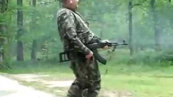 Стрельба очередью из гражданского оружия 3 )))