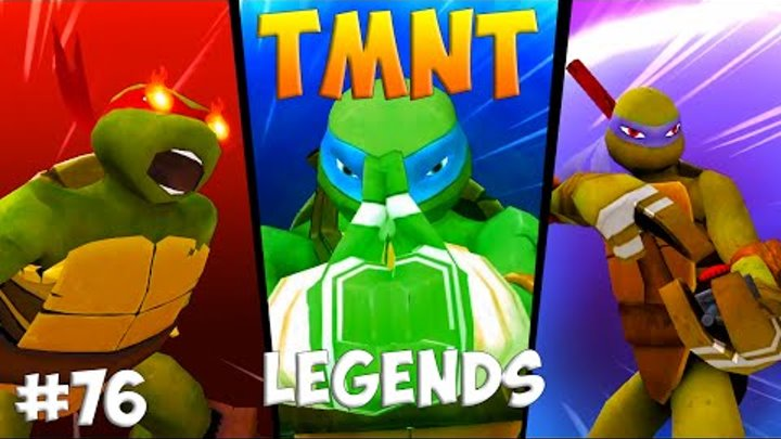 Черепашки-Ниндзя: Легенды. Прохождение #76 LEO RAPH DONI ALL Bosses (TMNT Legends IOS Gameplay 2016