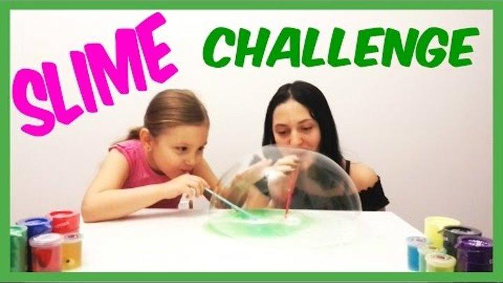 SLIME CHALLENGE cu Laura Vrabie si BettyL Club transmitem provocarea canalului Irochka info