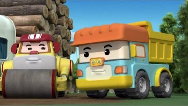 Робокар Поли - мультики про машинки - Новый сезон - Мы поможем вам, мистер Билдер! - Серия 21