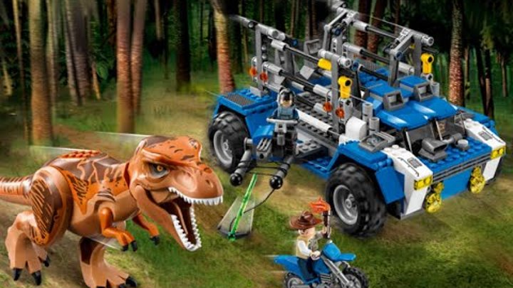 75918 Лего Охота на Ти-рекса LEGO Мир Юрского периода 2015 Jurassic World