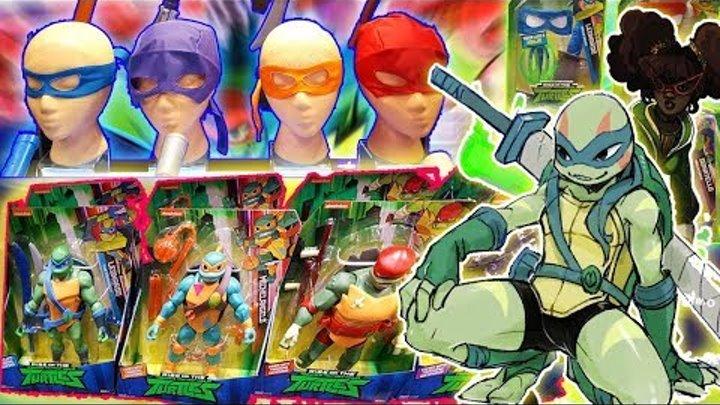 ФИГУРКИ, ИГРУШКИ И АРТЫ НОВЫХ ЧЕРЕПАШЕК НИНДЗЯ 2018 / Rise of The Teenage Mutant Ninja Turtles