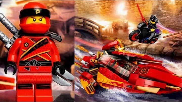 LEGO Ninjago 70638 Катана V11 Обзор набора Ниндзяго 8 сезон мультсериал