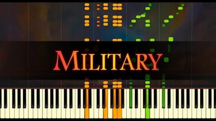 """Polonaise in A major, Op. 40, No. 1, """"Military"""" // CHOPIN"""