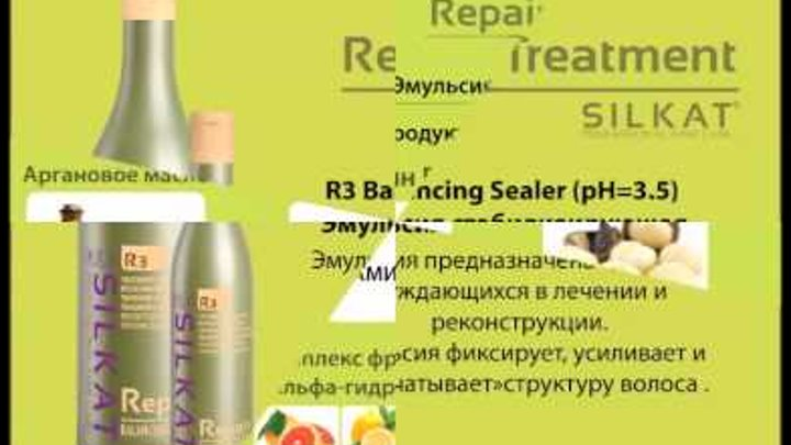 Парикмахерская 1 Класса - Новинка Silkat Repair Treatment от бренда BES Beauty & Science