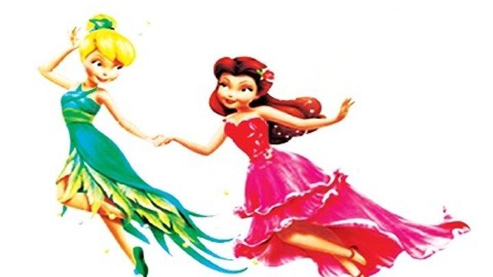 ФЕЯ ДИНЬ ДИНЬ. ДОЛИНА ФЕЙ. РАСПАКОВКА кукол Disney Динь Динь и Розетты!Детский канал вместе с нами!