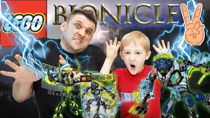 ЛЕГО БИОНИКЛ 71314 Грозовой Монстр Распаковка и Сборка | LEGO Bionicle 2016 STORM BEAST