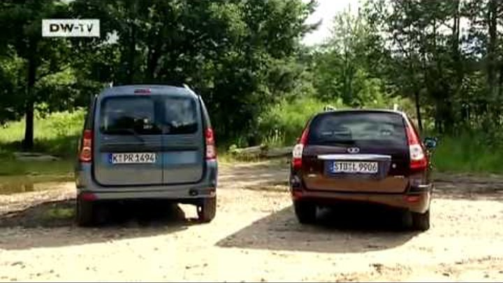 Dacia Logan MCV vs. Lada Priora Wagon | Motor mobil