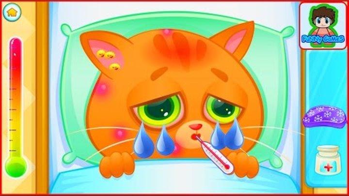 КОТЕНОК БУБУ #1 Мой Виртуальный Котик Bubbu My Virtual Pet игра как мультик для детей #Фаник