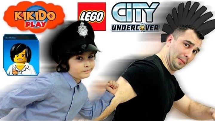 👮 LEGO CITY UNDERCOVER ПОБЕГ из ТЮРЬМЫ на острове АЛЬБАТРОС НОВЫЕ СЕРИИ ЛЕГО GTA