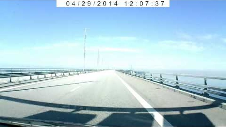 Мост Швеция- Дания (Мальме-Копенгаген)