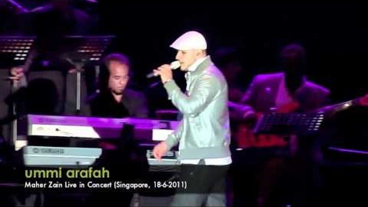 Maher Zain - For The Rest Of My Life (Singapore, 18-6-2011)