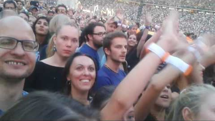 Coldplay 'Always In My Head' Berlin Olympiastadion