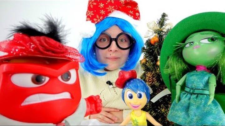 Головоломка. Игрушки. Печаль выбирает шляпку на праздник. Мультик для детей.