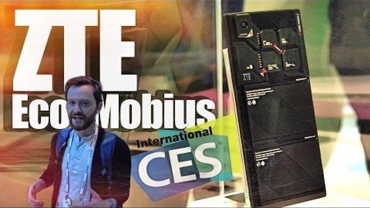 CES 2014: Первый взгляд на модульный телефон ZTE Eco-Mobius.