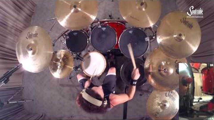Megadeth Devil's Island Nick Menza Drums Only