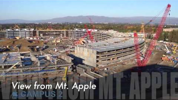 Apple Campus 2: December 2015 4K Update