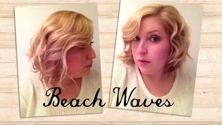 Beach Waves Frisuren Für Mittellanges Haar