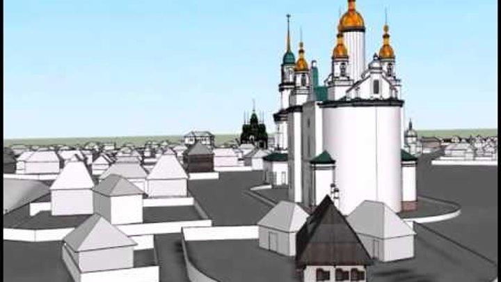 Полтавцям показали місто часів Котляревського в 3D форматі
