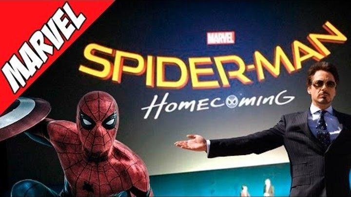 Человек-Паук Возвращение Домой / Spider-Man: Homecoming (Перезапуск Человека Паука от Марвел)