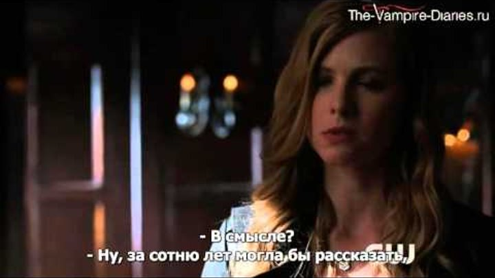 The Vampire Diaries - Episode 7.09 - Cold As Ice - Clip 2 (русские субтитры)