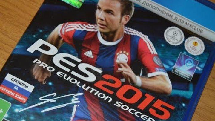 Обзор PES 2015 - Японский футбол нового поколения!