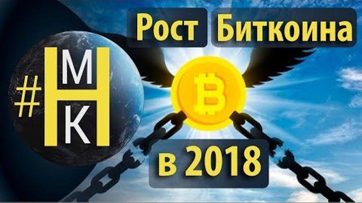 Рост биткоина в 2018 - мнение экспертов!