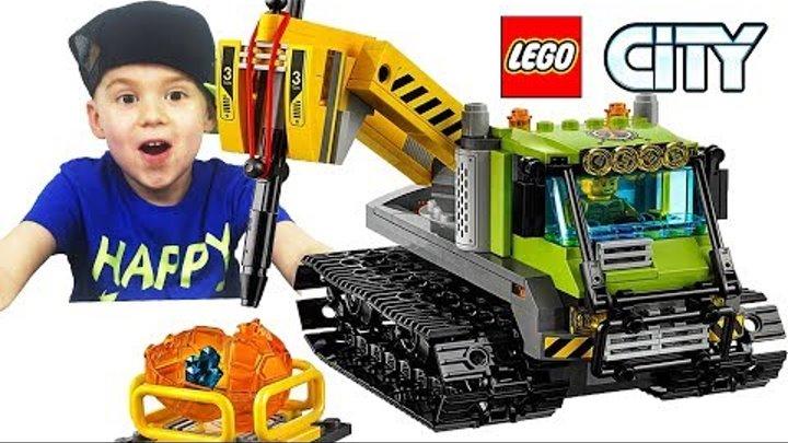 Лего Сити Исследователи вулканов Обзор Лего Игрушки для мальчиков LEGO City