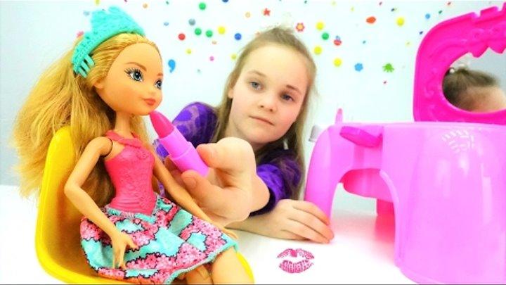 #Куклы ЭВЕР АФТЕР ХАЙ! 👗Эшлин Элла готовится к свиданию с Хантером💕 Игры для девочек РАСПАКОВКА