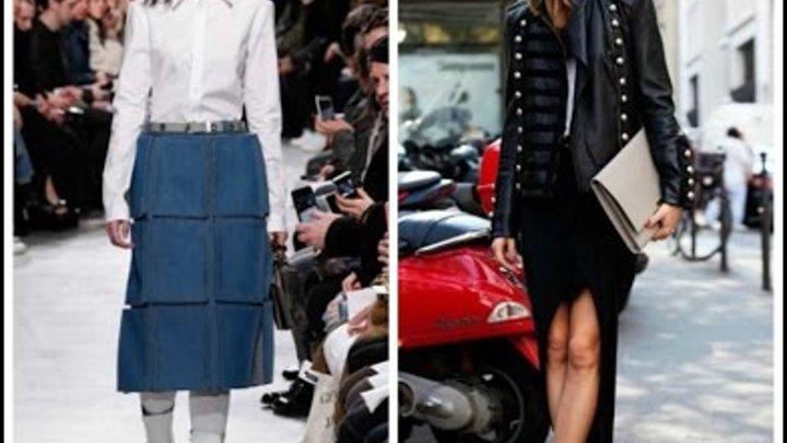 Модные юбки в 2017 году — новинки и тенденции