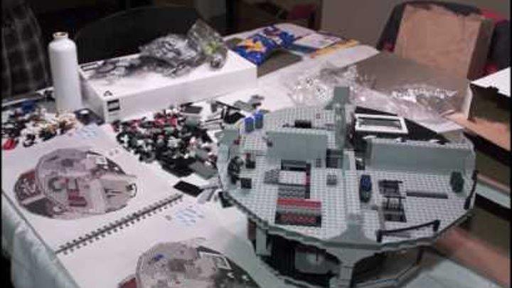Lego Star Wars Death Star build