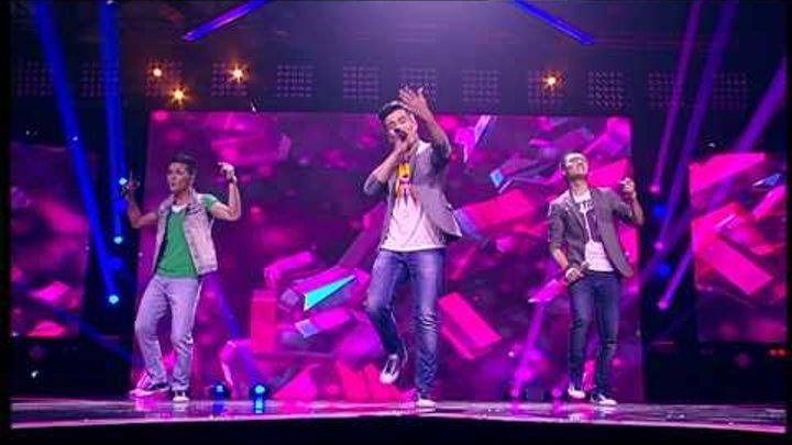 "Группа ""Z"". BSB. ""As long as you love me"" X Factor Казахстан. 1 концерт. 10 серия. 5 сезон."