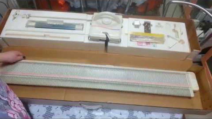 Вязальная машинка 4 кл. Silver Reed SK2200 (LK150).