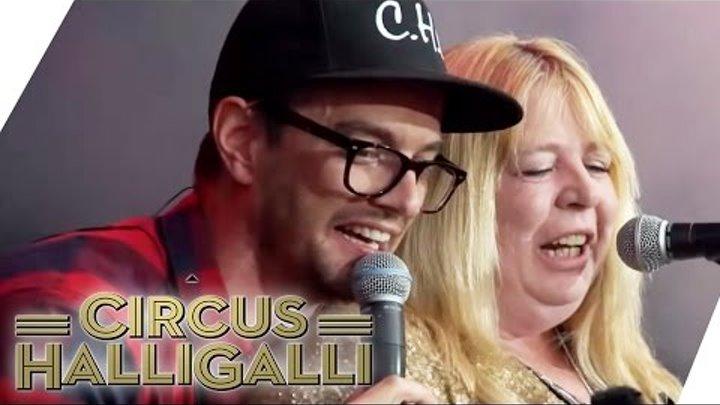 Rock am Ring: Sabine does want CHRIS NORMAN - TEIL 2 | Circus HalliGalli | ProSieben
