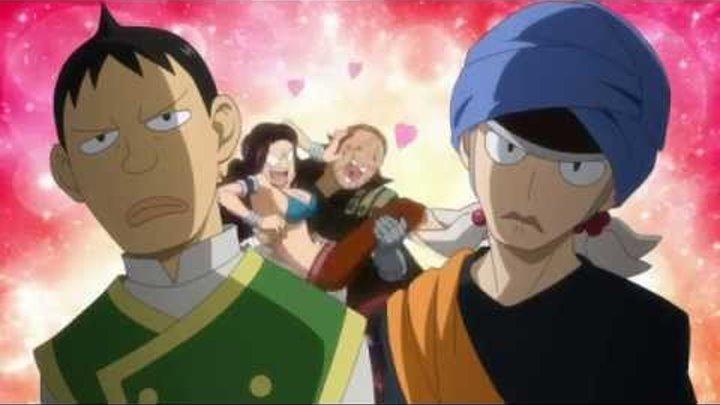 124 серия Fairy Tail Хвост Феи Прикол по аниме Озвучка Anсord Анкорд