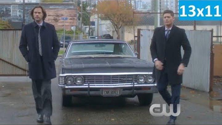 Сверхъестественное 13 сезон 11 серия - Фрагмент (Без перевода, 2018) Supernatural 13x11