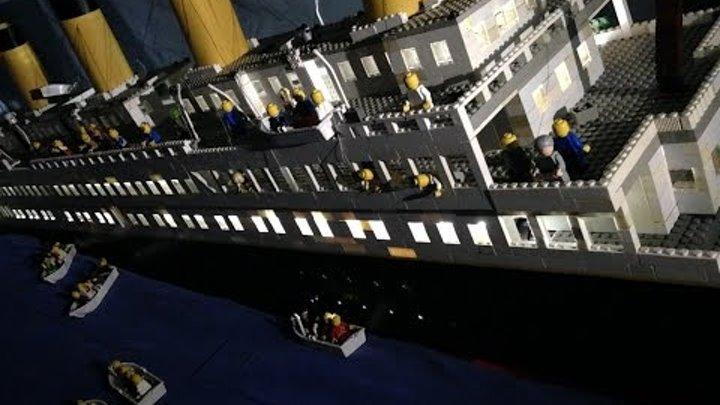 Lego Titanic Movie