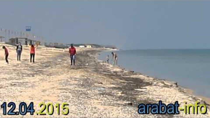 Арабатская стрелка на Пасху Азовское море