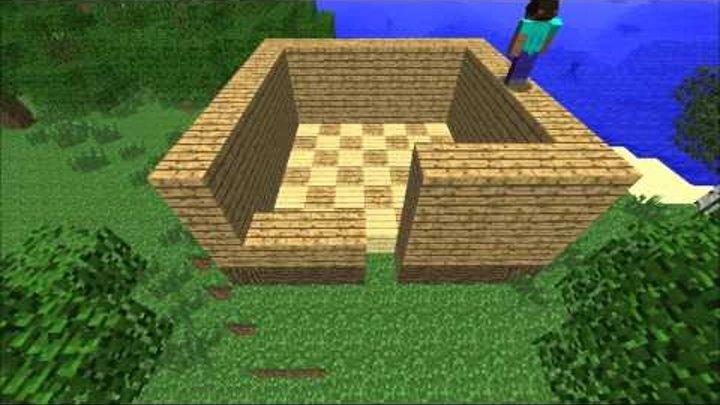 Minecraft (Трейлер-фильм-клип) часть 1