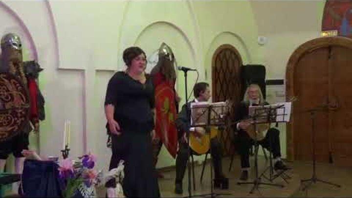 Юлия Гудникова поёт русские романсы (3 часть).