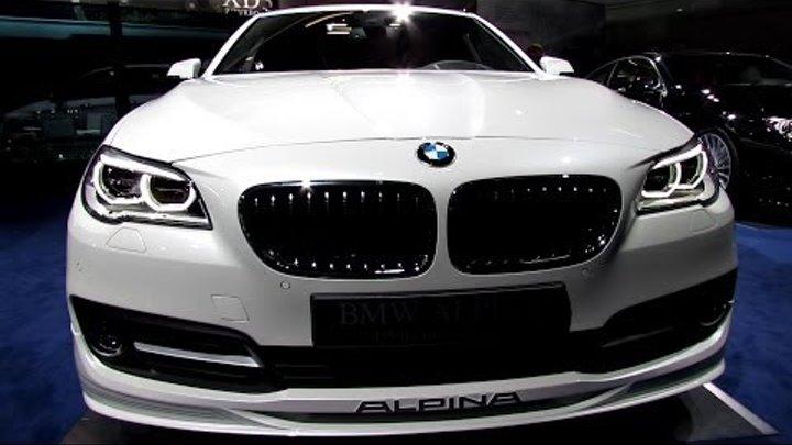 2014 BMW 5-Series Alpina D5 Bi-Turbo Touring - Walkaround - 2013 Frankfurt Motor Show