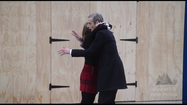 Doctor Who Filming Series 8 - The Doctor and Clara - *SPOILERS*