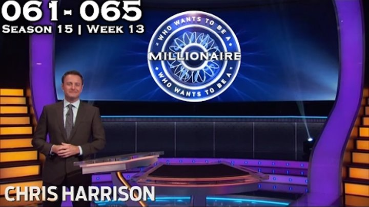 Who Wants To Be A Millionaire? #13 | Season 15 | Episode 61-65 [Ep.064 missing]