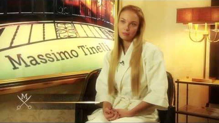 Интервью с Татьяной Арнтгольц для телеканала Mediaset (Италия)
