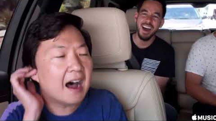 Ken Jeong and Mike Shinoda BEST moments COMPILATIONS CARPOOL KARAOKE (Linkin Park)