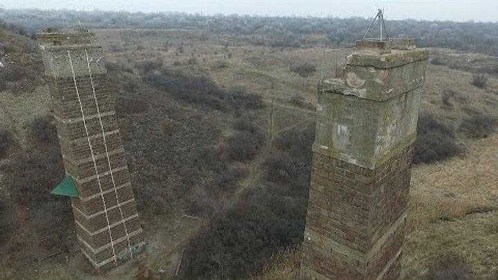 Шукач   Руины железнодорожных мостов. «Красный мост», Кривой Рог