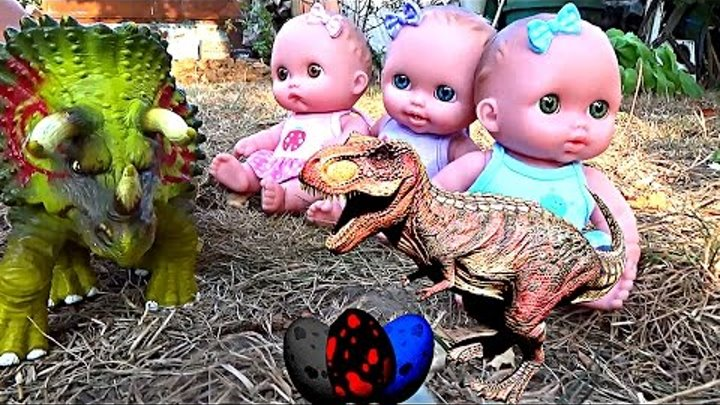 Хороший динозавр Мультики про динозавров Куклы пупсики для девочек и мальчиков Игрушки для детей