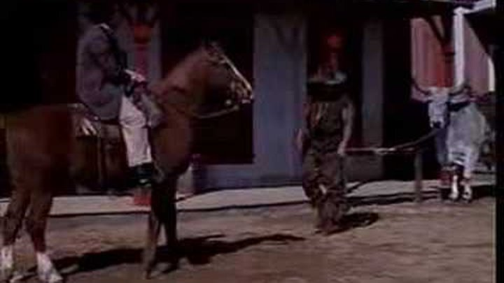 Blazing Saddles Mongo parks in the red zone