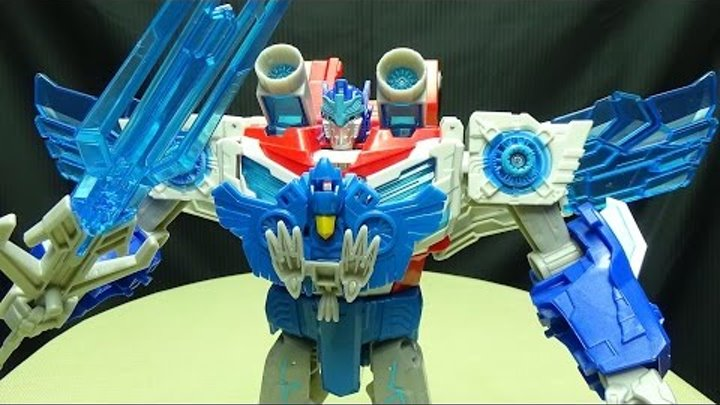 Robots in Disguise POWER SURGE OPTIMUS PRIME: EmGo's Transformers Reviews N' Stuff