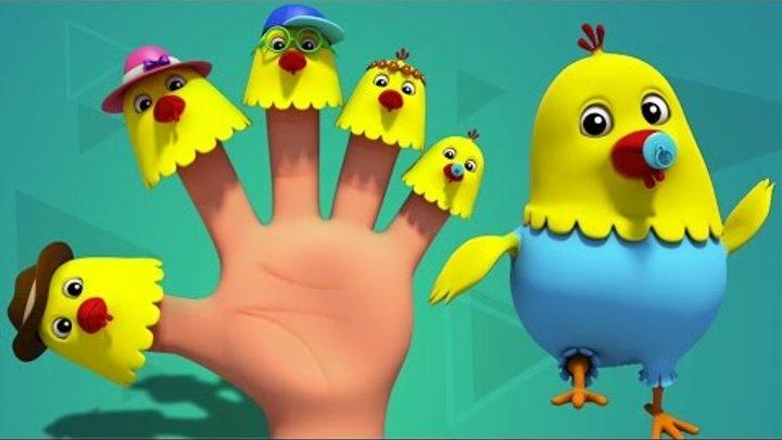 Куры Finger Семья | Дети песни | Детские стишки | Finger Family Rhymes | Hens Finger Family
